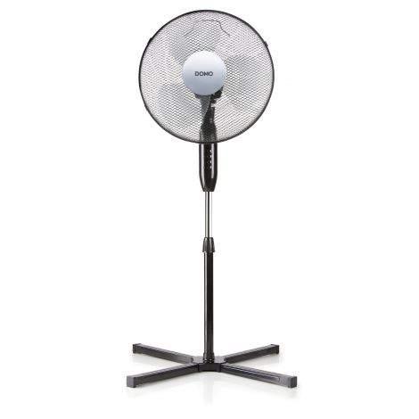 Ventilateur sur pied 40 cm noir
