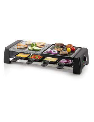 Raclette gril pierre à cuire 8 personnes - DOMO DO9190G