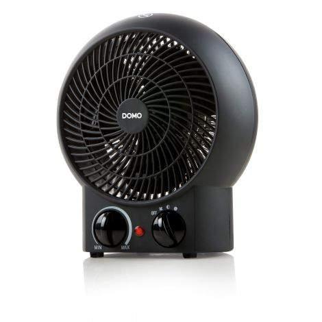 Radiateur soufflant noir 2000w