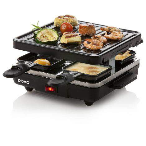 Raclette / gril - 4 personnes - 600W - DOMO DO9147G