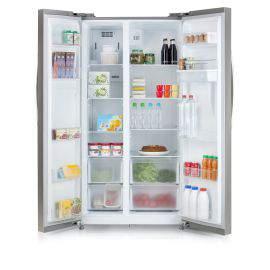 Réfrigérateur américain inox A+ 525 L – DOMO DO931SBS