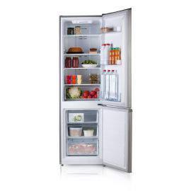 Réfrigérateur congélateur bas inox  A++ 270 L – DOMO DO927BFK