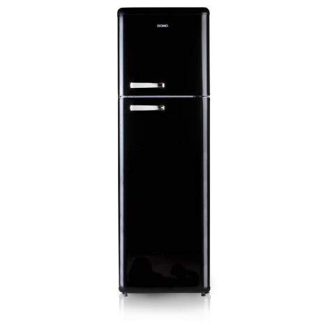 Réfrigérateur congélateur rétro noir DOMO DO919RKZ