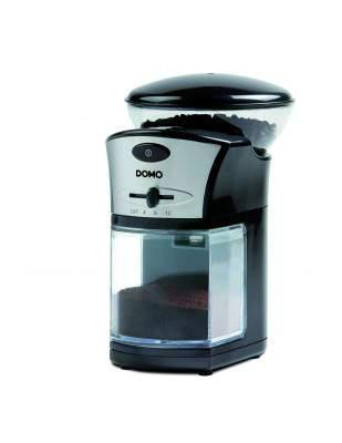 Moulin à café électrique noir 215 g - DOMO DO442KM