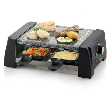 Raclette gril pierre à cuire 4 pers. Just us Deluxe - DOMO DO9187G