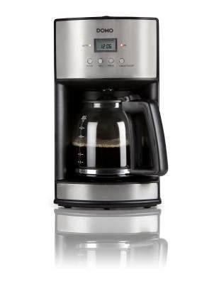Cafetière à filtre inox 14 tasses 1.8 L - DOMO DO473K
