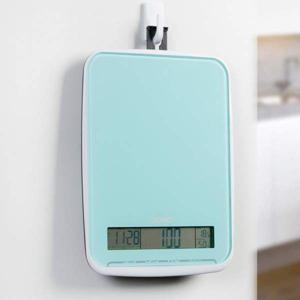 Balance de cuisine bleu 10 kg domo do9108 w festihome - Balance de cuisine 10 kg ...