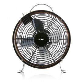 Ventilateur de table design Ø26 cm Aspect bois DOMO DO8145