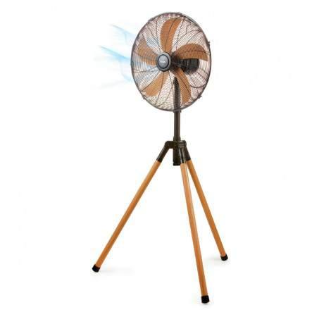 Ventilateur sur trépied 45cm bois DOMO DO8146