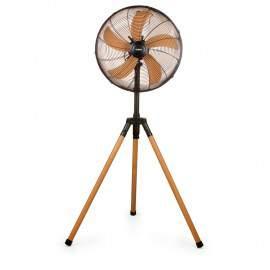 Ventilateur sur trépied Ø 45 cm bois - DOMO DO8146