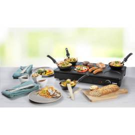Gourmet set 3 en 1: plaque de cuisson, wok et grill - DOMO DO8712W