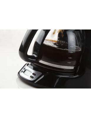 Cafetière programmable 12 tasses noire inox - DOMO  DO708K
