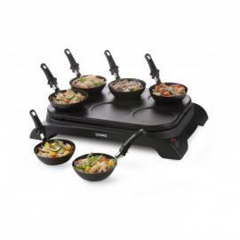 Gourmet set  Crêpière Wok électrique 6 personnes - DOMO DO8710W