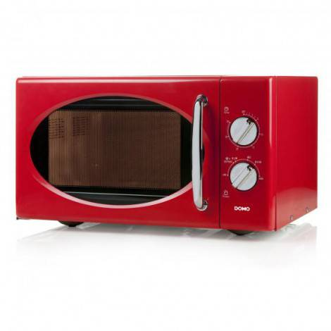 Micro-ondes 25 L 900 W rouge - DOMO DO2925
