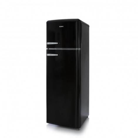 Réfrigérateur congélateur vintage noir A++ 245 L – DOMO DO929RKZ