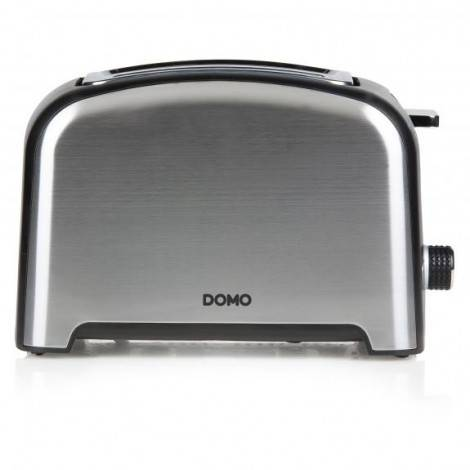Grille-pain toaster inox brossé - 4 fentes - 1600W  - DOMO DO959T