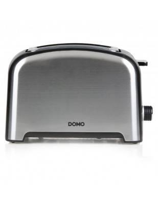 Grille-pain rétro inox brossé - 2 fentes - DOMO DO959T