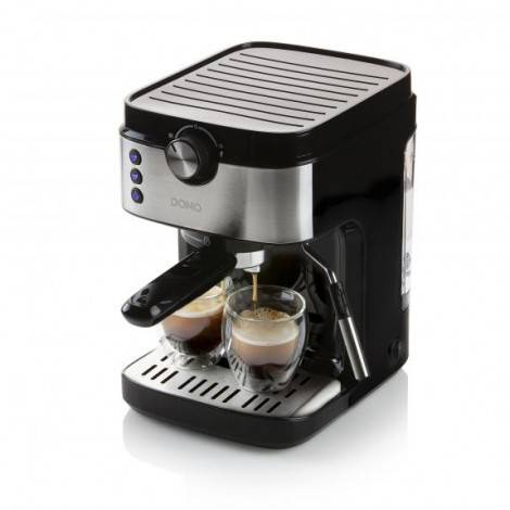 Machine à expresso 19 bar 2 tasses 1450W noire - DOMO DO711K