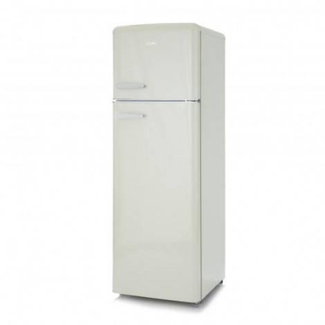 Réfrigérateur congélateur vintage crème A++ 245 L – DOMO DO929RKC