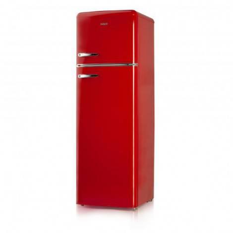 Réfrigérateur congélateur vintage rouge A++ 245 L – DOMO DO929RKR