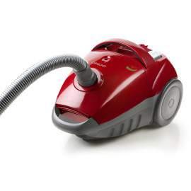 Aspirateur avec sac 700 W rouge - DOMO DO7282S