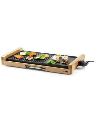 Plancha Teppanyaki Bamboo 60 x 30 cm - 2200W - DOMO DO8311TP