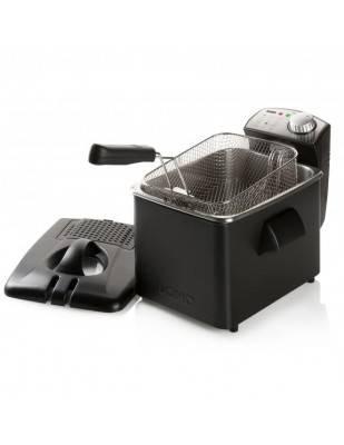 Friteuse électrique inox noir 4.5 L 3200 W - DOMO DO1014FR