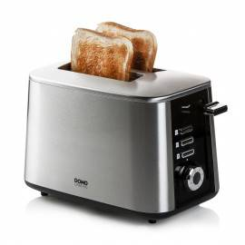 Grille-pain toaster inox 2 fentes 1600 W - DOMO DO972T