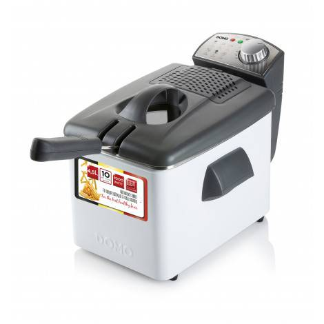 Friteuse électrique inox 4.5 L 3200 W - DOMO DO519FR