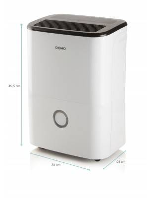 Déshumidificateur d'air silencieux - DOMO DO343DH