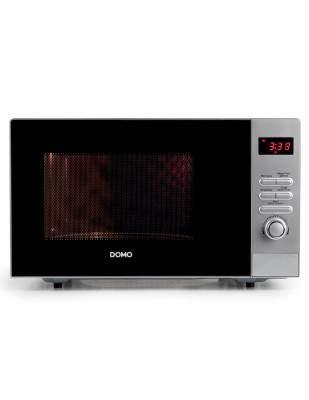 Micro-ondes inox 23 L 800 W - DOMO DO2923