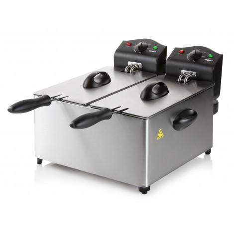 Friteuse à double cuve émaillée – 2 x 3L / 3500 W – DO560FR
