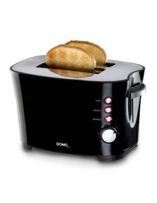 Grille-pain 2 fentes noir - DOMO DO941T