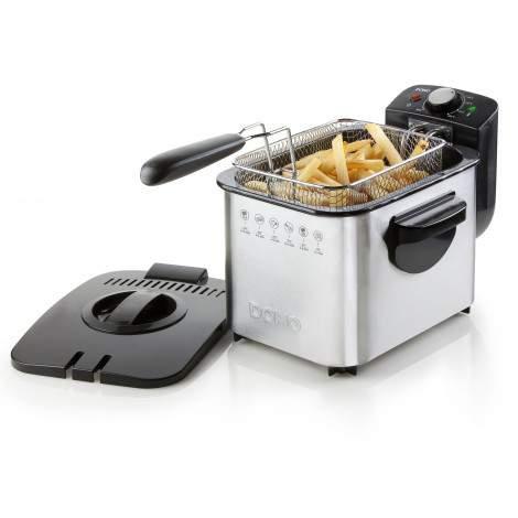 Friteuse - cuve inox - 3L - 2200 W - DOMO DO506FR