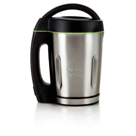 Blender chauffant - Soup Maker - 1,6L - bol inox - 3 programmes - 1000W - DOMO DO498BL