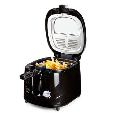 Friteuse B-SMART - ABS black - 2,5L - 1800W - DOMO DO461FR