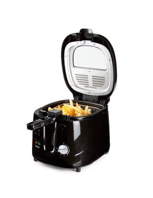 Friteuse électrique 2.5 L noire - DOMO DO461FR