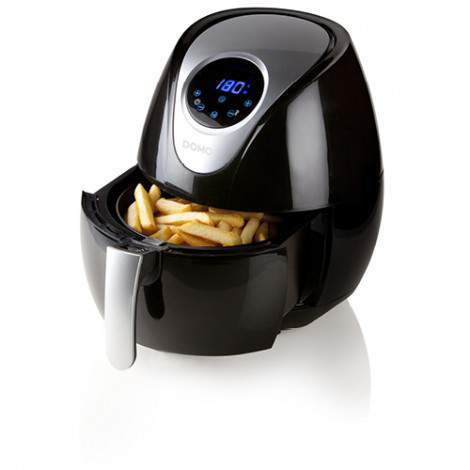 Friteuse Deli-fry - air chaud digitale - 3,5L - 1500W - DOMO DO509FR