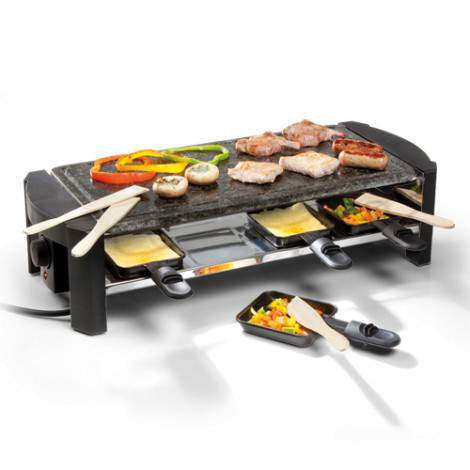 Pierre / raclette rectangulaire - 8 personnes - 1300W - DOMO DO9039G