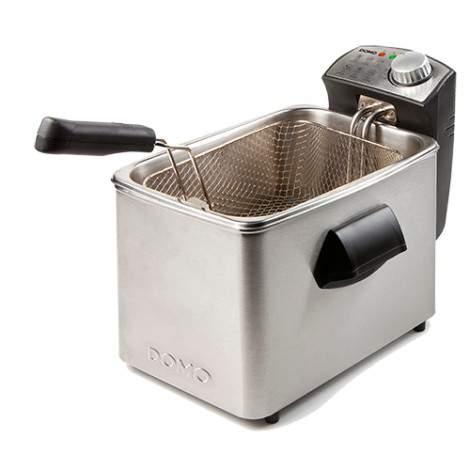 Friteuse - cuve inox - 4L - 3000W - DOMO DO458FR
