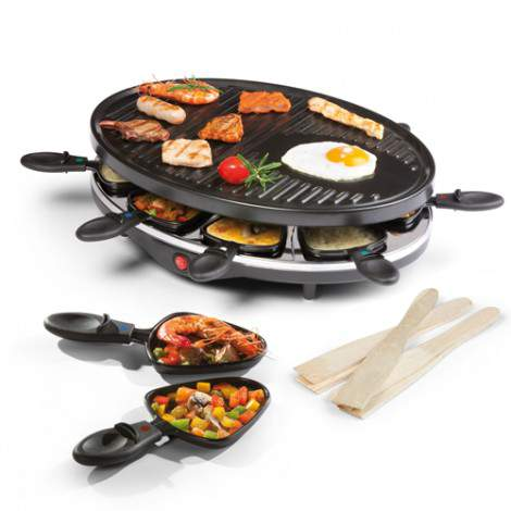 Raclette / gril - 8 personnes - 1200W - DOMO DO9038G