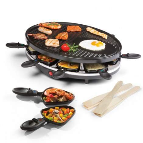 Raclette / gril - 8 personnes - 1200W - DOMO DO9038G