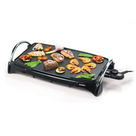 Plancha Teppanyaki 2 zones de cuisson - 49x28cm - 2200W - DOMO DO8302TP