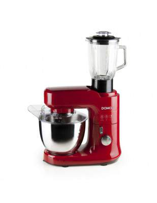 Robot pâtissier multifonction 4.5 L rouge - DOMO DO9145KR