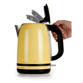 Bouilloire inox 1.7 L jaune - DOMO DO490WK