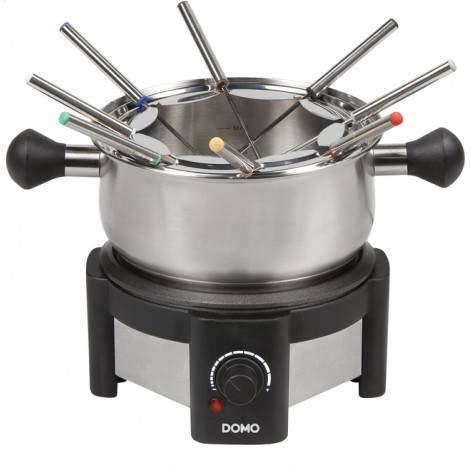 Appareil à fondue inox 8 personnes - 1,3L - 1500W - DOMO DO459F