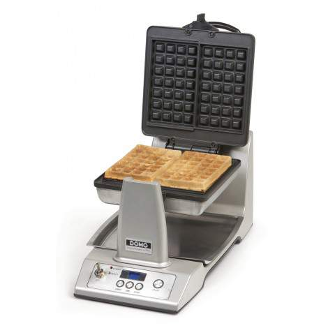 Gaufrier rotatif automatique en inox – 1400 W - DOMO DO9043W