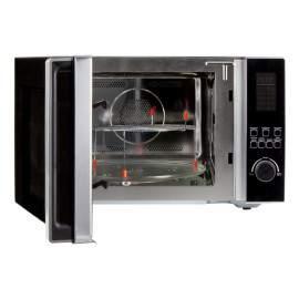 Four micro-ondes combiné noir et inox  42 L 2700 W - DOMO DO2342CG
