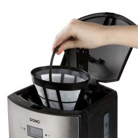 Cafetière programmable inox 10 tasses - DOMO DO474K