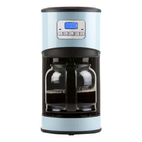 Cafetière programmable - 12 tasses - 1,8L - Bleu - DOMO DO478K